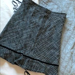 Chanel style tweed skirt from Gap